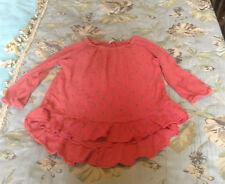 Cerise pink floral viscose top by Next  size 7years