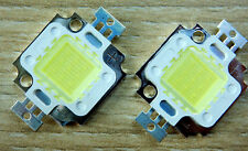 2 Stk. 20000K 10 W LED Chip, 9-10V, 900 Lm, High Power, COB, Aquarium, Neu