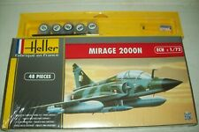 HELLER  MIRAGE 2000 N    1:72 scale   kit   with paints and glue