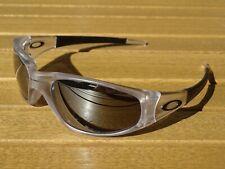 Oakley Sonnenbrille Straight Jacket Matte Clear Herren Brille Sunglasses 04-041