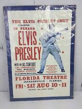 "The Elvis Presley Show Vintage Florida Theatre Tin 1997 12.25"" x 17.25"" Sealed"