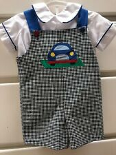 Euc size 4t mulberry street reversible 2 piece set Halloween and car