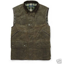 New/Tags-POLO RALPH LAUREN Monroe LEATHER-TRIM OILCLOTH Waxed VEST! SZ-S Small