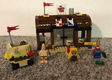 LEGO 3833 Nickelodeon SpongeBob Squarepants Krusty Krab Adventures 100% complete