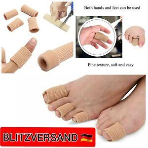 Silikon Zehenschutz Schlauchbandage Fingerbandage Fingerschutz Gel Zehenpolster