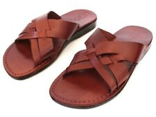 Outdoor Leather Jesus Biblical Sandals Men Women Beach Greek Spartan Roman Shoes