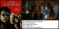 """Movie Quote Poster - The Lost Boys #1- Canvas Art Poster - 12"""" x 24"""""""