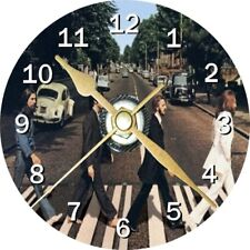 The Beatles Novelty Cd Clock Can be personalised