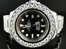 Da Uomo Rolex Nuovo di Zecca Personalizzate 46 mm SEA DWELLER DEEP SEA Genuine Diamond Watch