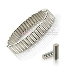 "New 8.5"" 22CM Removable Silver Magnetic Therapy NdFeB Neodymium Magnet Bracelet"