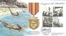 BBF3 WW2 WWII Spitfire RAF Dunkirk 2010 FDC signed RAYMOND BAXTER (20 produced)