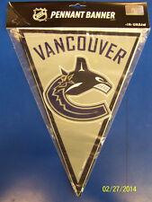 Vancouver Canucks NHL Hockey Sports Banquet Party Decoration Pennant Flag Banner