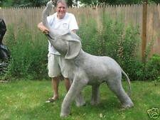 5 FT Fiberglass ELEPHANT fountain garden animal statue