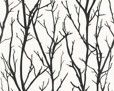 Schöner Wohnen 5 Tapete Vlies schwarz weiß Schrift 9448-25 2,95€//1qm