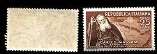 ITALIA REP. - 1952 - 100° della prima missione in Etiopia del Card. Massaia -