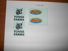 TONKA TRUCK FARM STAKE TRUCK 56-57 DECAL SET