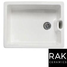 RAK 600 Gourmet Ceramic Belfast Butler Kitchen Sink with Weir Overflow Farmhouse