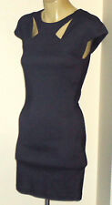SABO SKIRT SmartGrey70%CottonMixStretchKeyhole SizeS NWT