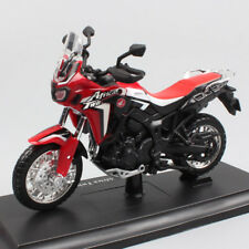 1:18 Honda Africa Twin DCT Diecast Model Touring Off-roa Bike Motorcycle Red Toy