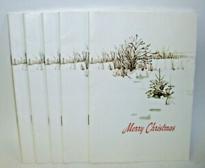 Vintage Merry Christmas Program Books of Songs and Readings Lot of 5
