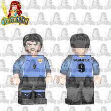 LEGO Football Soccer FIFA World Cup Suarez in National Jersey Custom  minifigure