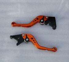 LEVIERS COURTS RACING KTM 690 DUKE 1290 SUPERDUKE RC8 FREIN EMBRAYAGE ORANGE