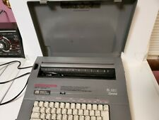 Smith Corona Sl480 Electric Portable Typewriter With Case Tested Amp Works