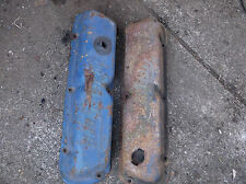 1968 1969 Mustang 302 351 Windsor Valve Covers Pair Powered By Ford PCV Oil Cap
