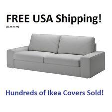 """IKEA KIVIK Sofa (89 3/4"""") Cover Slipcover ORRSTA LIGHT GRAY New! SEALED!"""