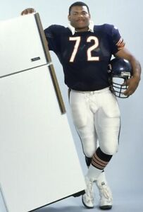 WILLIAM THE REFRIGERATOR PERRY Poster Football Print Poster  2 x 3 Feet  A