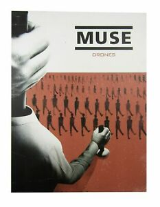 """Muse Drones Wall Lithograph Poster New Official 18"""" x 24"""""""