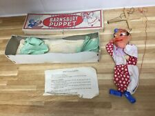 Vintage Barnsbury Puppet ~ Punch & Judy Punch Character ~ Boxed