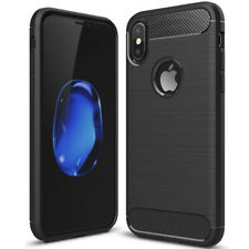 Back Case hülle TPU Forcell Carbon schwarz Samsung Galaxy A5 2017 hart Glas