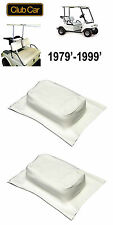 Club Car DS 1979-1999 Seat Back Cover (2) Covers WHITE 1015626