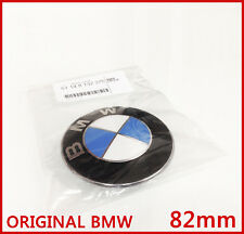 Original BMW Emblem Motorhaube  Hecklappe Plakette 82mm 1er 3er E39 E46 8132375