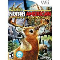 Cabela's North American Adventures - Nintendo  Wii Game
