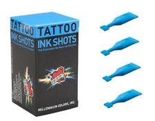 Mom's Millennium Tattoo Inks Ice Blue Color Original Shots Set of 30 Pcs 2 ml