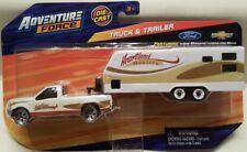 Maisto Adventure Force Ford F250 F350 Truck & Camper Trailer Heartland Haulers