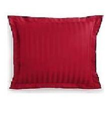Charter Club Damask Stripe 500 TC Euro Sham 100 % Pima Cotton Crimson MSRP $50