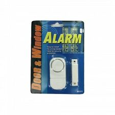 Security Alarm-Window, Door Or Cabinet 90 DB Piercing Sound  Includes Batteries