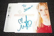 """MANDY MOORE signed Autogramm auf """"CANDY"""" CD Cover InPerson LOOK"""