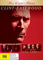 Million Dollar Baby / Space Cowboys New DVD Region 4 Sealed