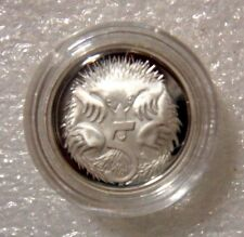 AUSTRALIA: 2015 5 CENTS PROOF ECHIDNA! ENCAPSULATED