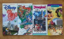 Lot of 4 Walt Disney's Magic Kingdom Club Membership Guides 1995-1998