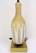 Fratelli Fanciullacci Italy Table Lamp-1950's Mid-Century Modern Italian Pottery