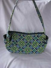 Vera Bradley Daisy Daisy small Maggie Tote teen tween adult green blue white EXC