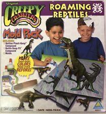 Creepy Crawlers Dinosaurs ROAMING REPTILES Molds w/ Plasti Goop NIB