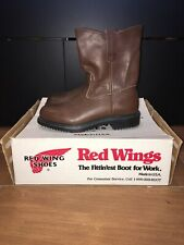Vtg Red Wing PECOS Cowboy Engineering Motorcycle Boots, Style 1155 Size 6 EE