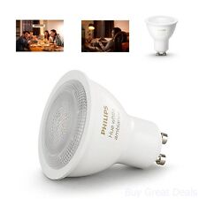 Philips 464792 Hue White Ambiance GU10 LED Bulb