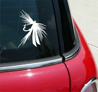 Fishing Fish Lure Fly Hook Lake Sea Ocean Graphic Decal Sticker Vinyl Wall